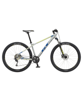 "GT Avalanche 27.5"" Comp Satin Battle Grey/Neon Yellow"