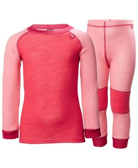 Helly Hansen K Lifa Merino Set Strawberry
