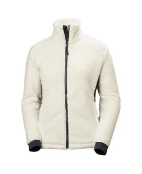 Helly Hansen W Precious Fleece Jacket Offwhite