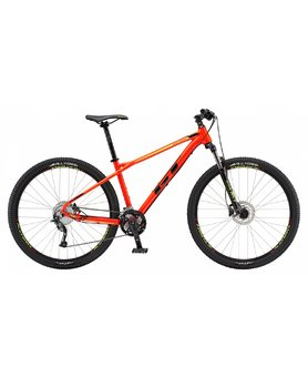 "GT Avalanche 27.5"" Sport Gloss Neon Red/Black"