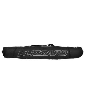 BLIZZARD ski bag premium for 2 pair, 160-190cm black/silver