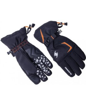 Blizzard Reflex ski gloves black/orange