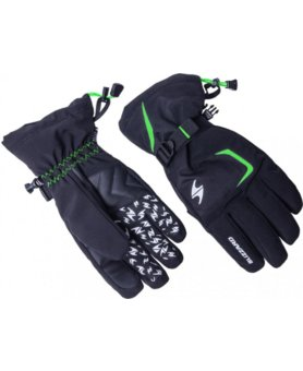 Blizzard Reflex ski gloves black/green