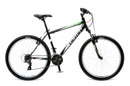 Bicykel Dema ECCO 5.0 black-white green 18""