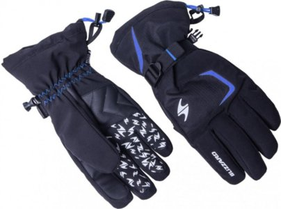 Blizzard Reflex ski gloves black/blue
