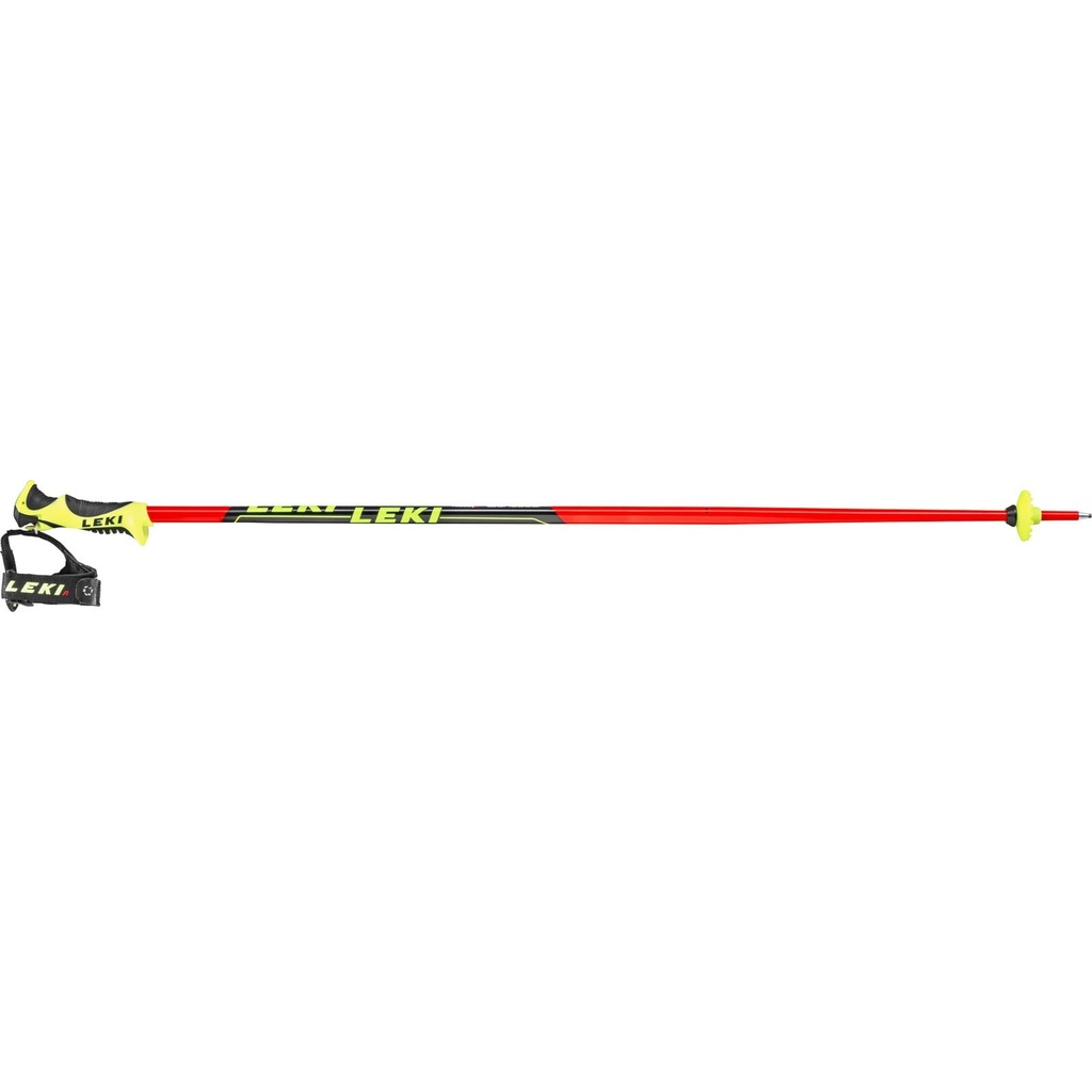 LEKI Worldcup Lite SL Red/Black/Yellow