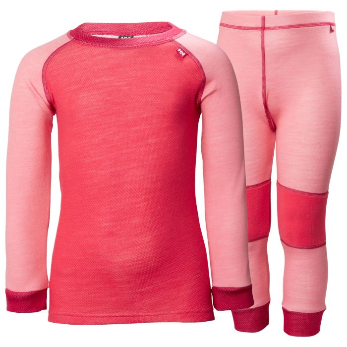 Helly Hansen K HH Lifa Merino Set Strawberry
