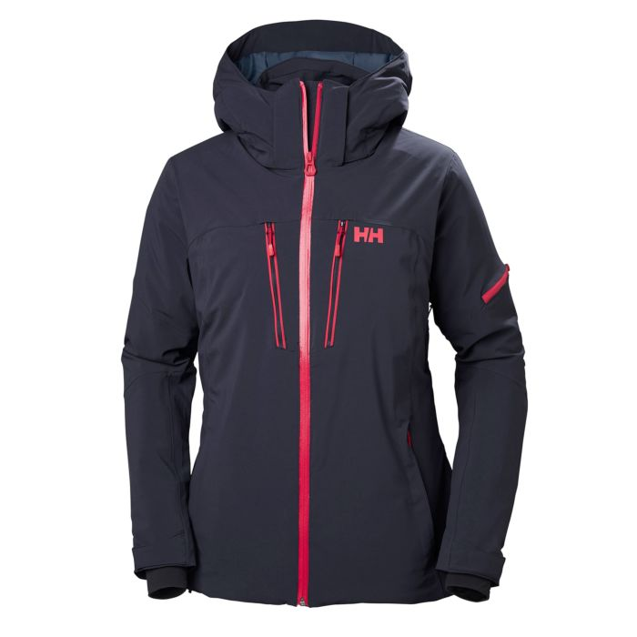 Helly Hansen W Motionista Jacket Graphite Black