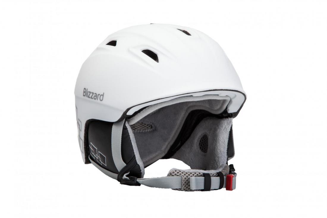 a60ccfbd7 BLIZZARD VIVA DEMON ski helmet, white matt/silver squares