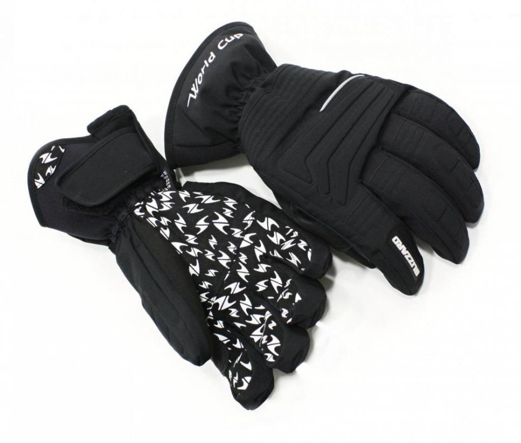 11951f9bb Blizzard World Cup ski gloves, black