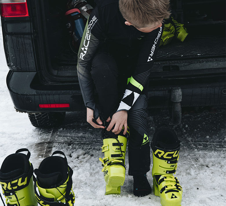 BLIZZARD Compress ski socks black/yellow